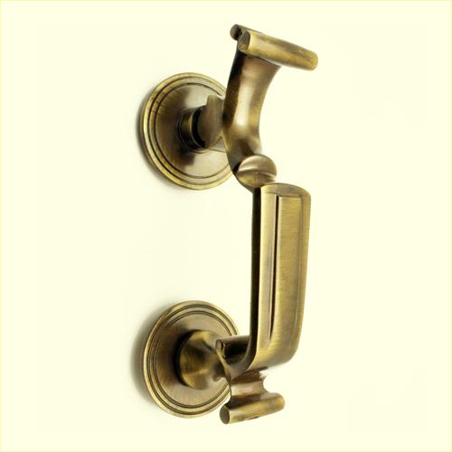 Antique Brass Door Knocker - 1107 - Door Knockers – Metal Hardware Exporter India