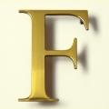 Brass Letters - 4043