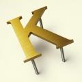 Brass Letters - 4045