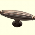 Oval Cabinet Knobs - 1825