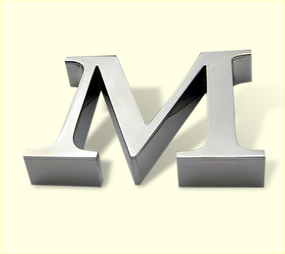 stainless steel letters 4031