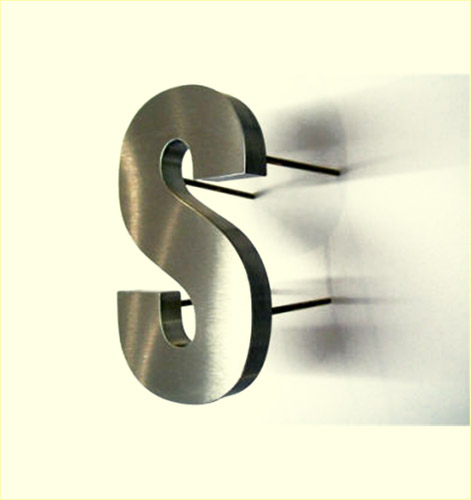 stainless steel letters 4033