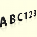 Stainless Steel Letters - 4032