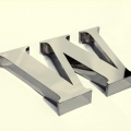 Stainless Steel Letters - 4034