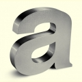 Stainless Steel Letters - 4035
