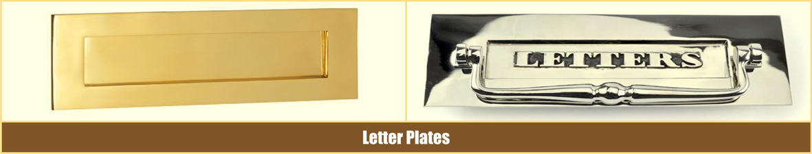Metal Letter Plates